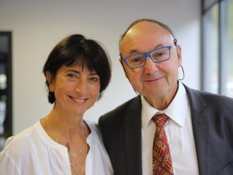 Anne-Marie Baezner et Gérad Angel - LyonMag
