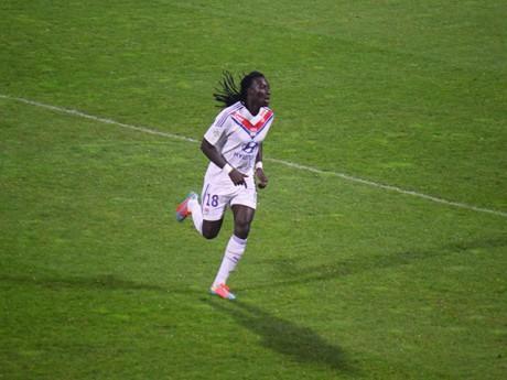 Bafé Gomis a montré la voie dimanche - LyonMag