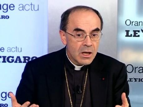 Philippe Barbarin lors du Talk Orange - Le Figaro