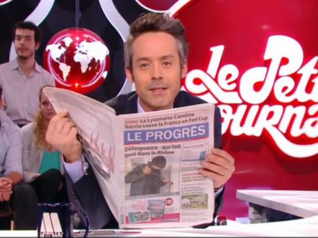Yann Barthès et le Progrès - Capture d'écran