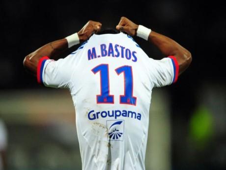 Michel Bastos, pour quelques temps encore, avec le maillot de l'OL ? - Photo DR