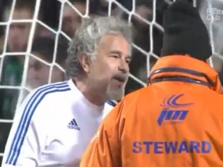 Joël Bats avait provoqué la colère des supporters - Capture d'écran DR