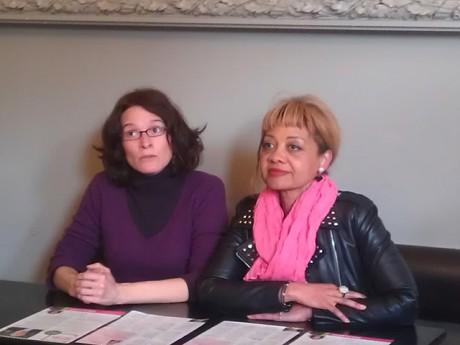 Emeline Baume et Odile Belinga - LyonMag