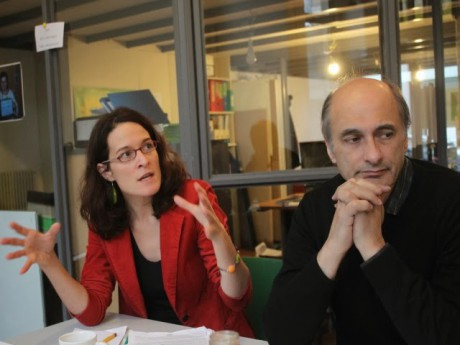 Emeline Baume et Etienne Tête, deux des élus EELV au conseil municipal - LyonMag