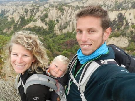 La famille Rostaing, à l'autre bout du monde - DR