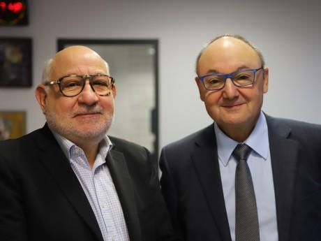 Guy Benhamou et Gérard Angel - LyonMag