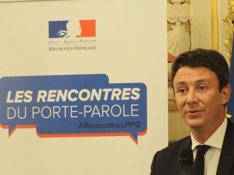 Benjamin Griveaux ce mercredi à Lyon - LyonMag.com