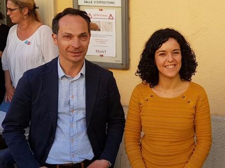 Benoit Schneckenburger et Manon Aubry - LyonMag