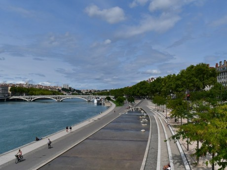 Les berges du Rhône - Lyonmag.com