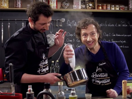 Stéphane Bern et Monsieur Poulpe - Capture d'écran Youtube