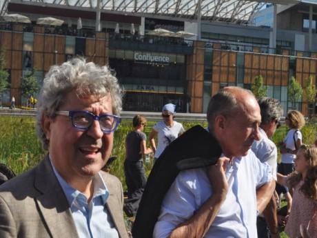 Roland Bernard (2e) et Gérard Collomb (9e) - LyonMag