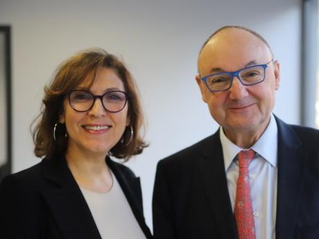 Nora Berra et Gérard Angel - LyonMag