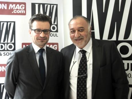 Bertrand Szymkowiak et Alain Partouche - LyonMag