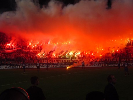 Les supporters de Besiktas - DR