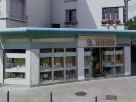 La bijouterie braquée - Photo GoogleMap