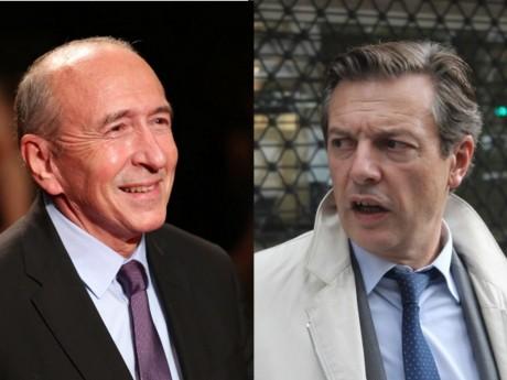 Gérard Collomb et Pascal Blache - Montage LyonMag