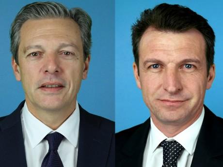 Pascal Blache et Stéphane Guilland - Montage LyonMag