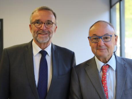 Etienne Blanc et Gérard Angel - LyonMag