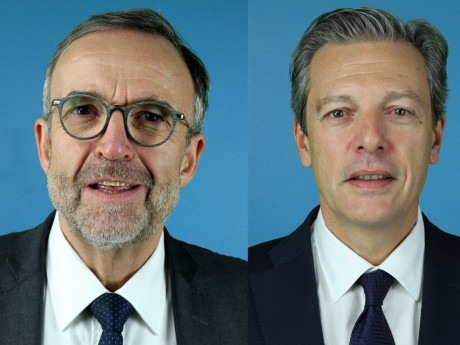 Etienne Blanc et Pascal Blache - Montage LyonMag