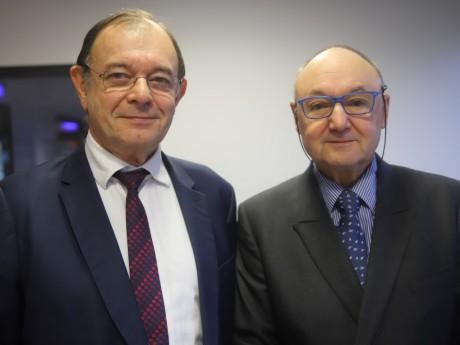 Yves Blein et Gérard Angel - LyonMag