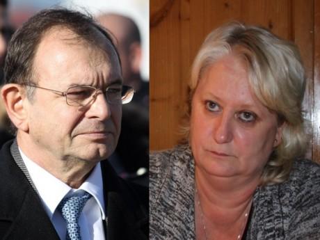 Yves Blein et Michèle Picard - Montage LyonMag