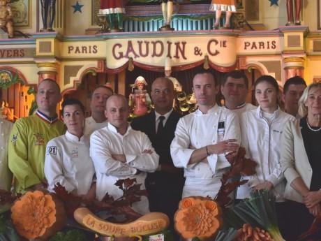 Jérôme Bocuse (au centre), de plus en plus impliqué dans le Sirha - LyonMag