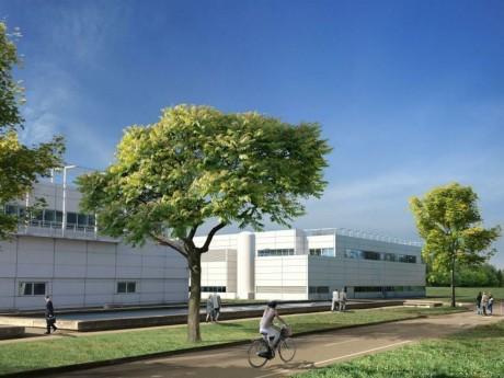Modélisation du futur site - DR Amplitude architectes