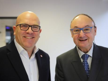 Bruno Bonnell et Gérard Angel - LyonMag