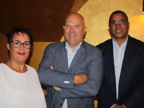 Nathalie Cayuela, Bruno Bonnell et Salim Azouzi - LyonMag
