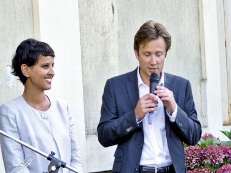 Najat et Boris Vallaud - DR