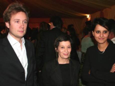 Boris Vallaud et sa femme - DR