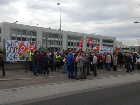 Les salariés de Bosch ont récemment manifesté lors de la venue du DG à Vénissieux - LyonMag