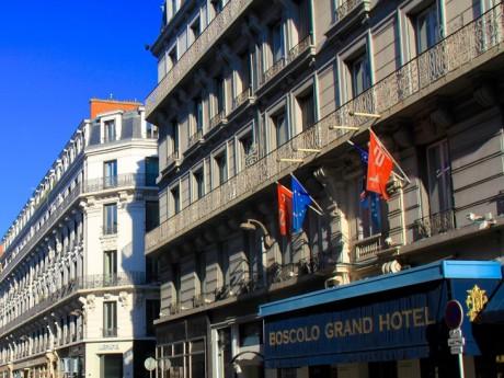 L'hôtel Boscolo - DR google maps