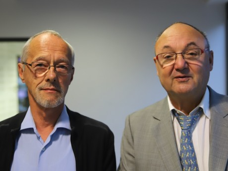 Yves Botton et Gérard Angel - LyonMag