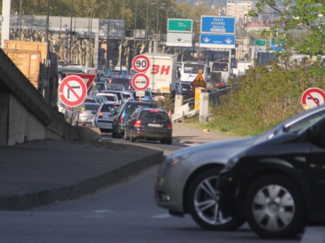 La circulation automobile est en partie responsable (Photo LyonMag.com)