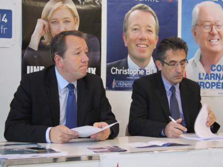 Christophe Boudot et sa tête de liste dans le 6e Norbert Hekimian - LyonMag