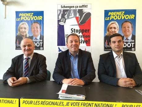 Michel Dulac, Christophe Boudot et Maxime Chaussat - LyonMag