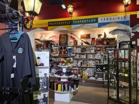 La boutique officielle Harry Potter se trouve à l'entrée du Village JouéClub de Confluence - LyonMag