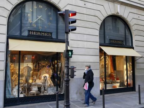 Une boutique Hermès - Photo DR