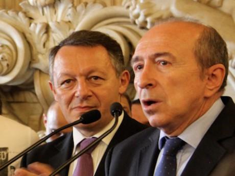Thierry Braillard et Gérard Collomb - Lyonmag.com