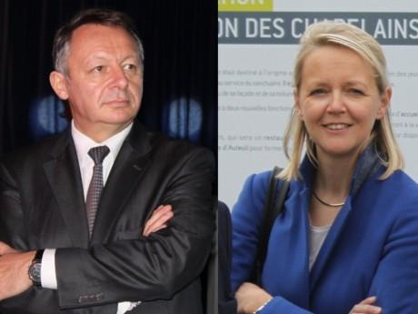 Thierry Braillard et Anne Lorne - Montage LyonMag