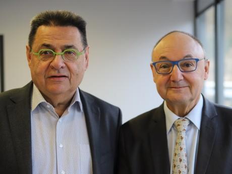 Jean-Paul Bret et Gérard Angel - LyonMag