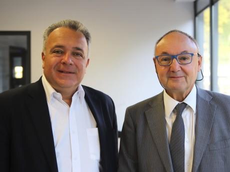 Denis Broliquier et Gérard Angel - LyonMag