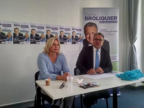 Christelle Madeleine et Denis Broliquier - LyonMag
