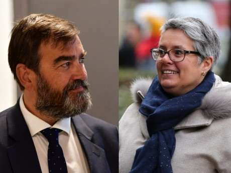 Guy Corazzol et Anne Brugnera - Montage LyonMag