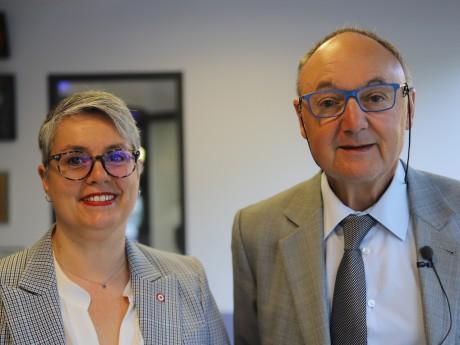 Anne Brugnera et Gérard Angel - LyonMag