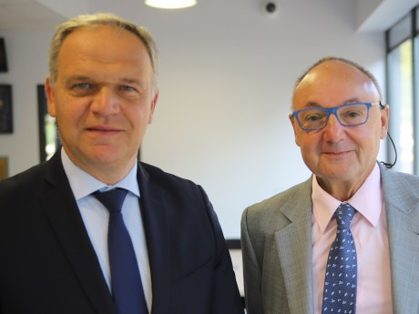 François-Noël Buffet et Gérard Angel - LyonMag