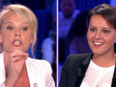 Najat Vallaud-Belkacem face à Vanessa Burgraff - DR