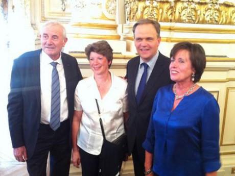 Les nouveaux sénateurs UMP du Rhône - DR UMP 69