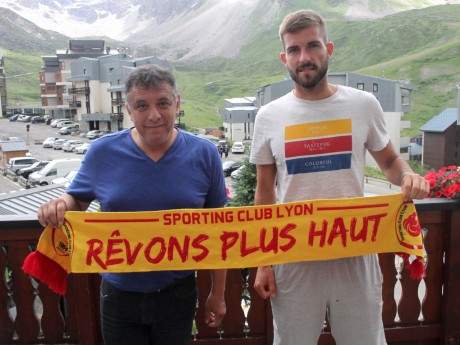 Mohamed Tria, président du SC Lyon, et Corentin Jacob / Thomas Hernu - Sporting Club de Lyon